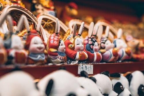 Základová fotografie zdarma na téma 兔 爷, 北京, 可爱, 吉祥物