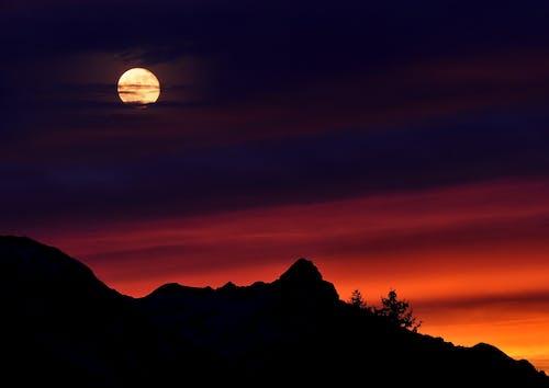 Full Moon Over Black Mountain