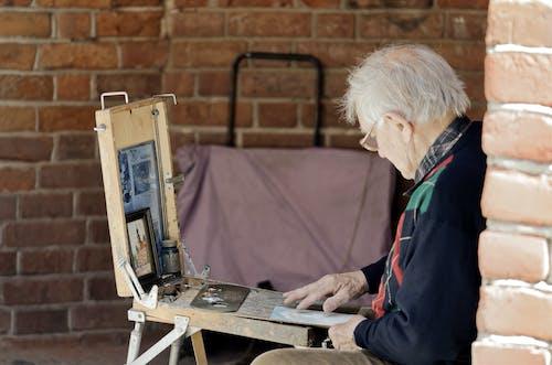 アーティスト, アイウェア, アダルト, おとこの無料の写真素材