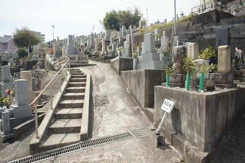 墓園, 灰 的 免费素材照片