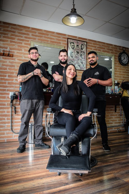 Free stock photo of barber shop