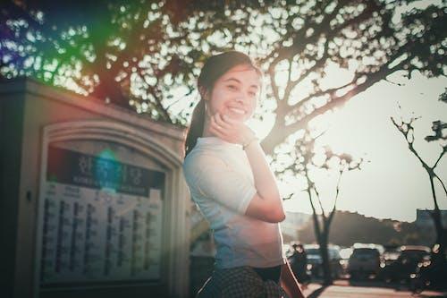 Kostenloses Stock Foto zu portraitfotografie, porträt, prisma