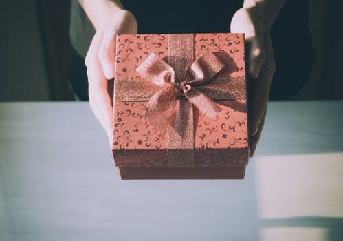 Brown Gift Box