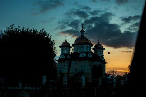 Free stock photo of #church, #evening, #monastery, #sunsetchurch
