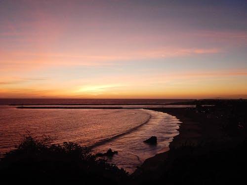 Gratis arkivbilde med los angeles, sjø, solnedgang, strand