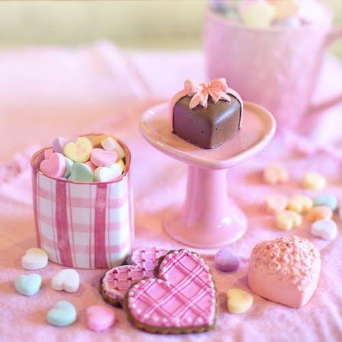情人節, 浪漫, 甜食, 糖果 的 免费素材照片