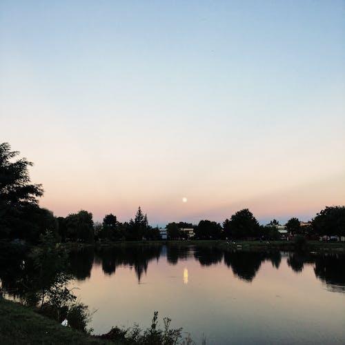 Základová fotografie zdarma na téma iphone 6s, měsíc, Slovensko, voda