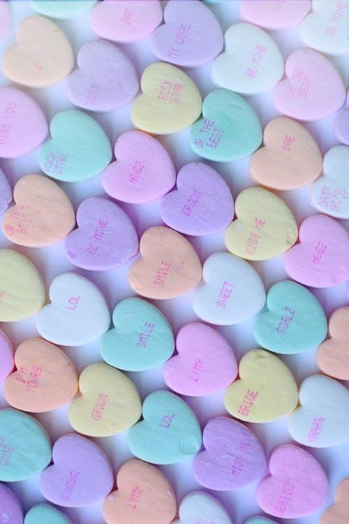 情人節, 甜食, 糖果, 背景 的 免费素材照片