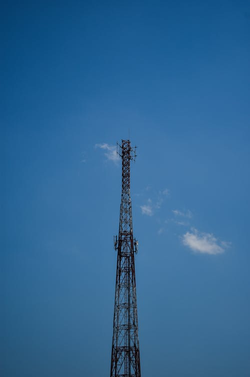 Free stock photo of blue sky, radio tower, tower