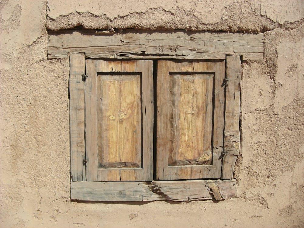 Wooden Window Pane