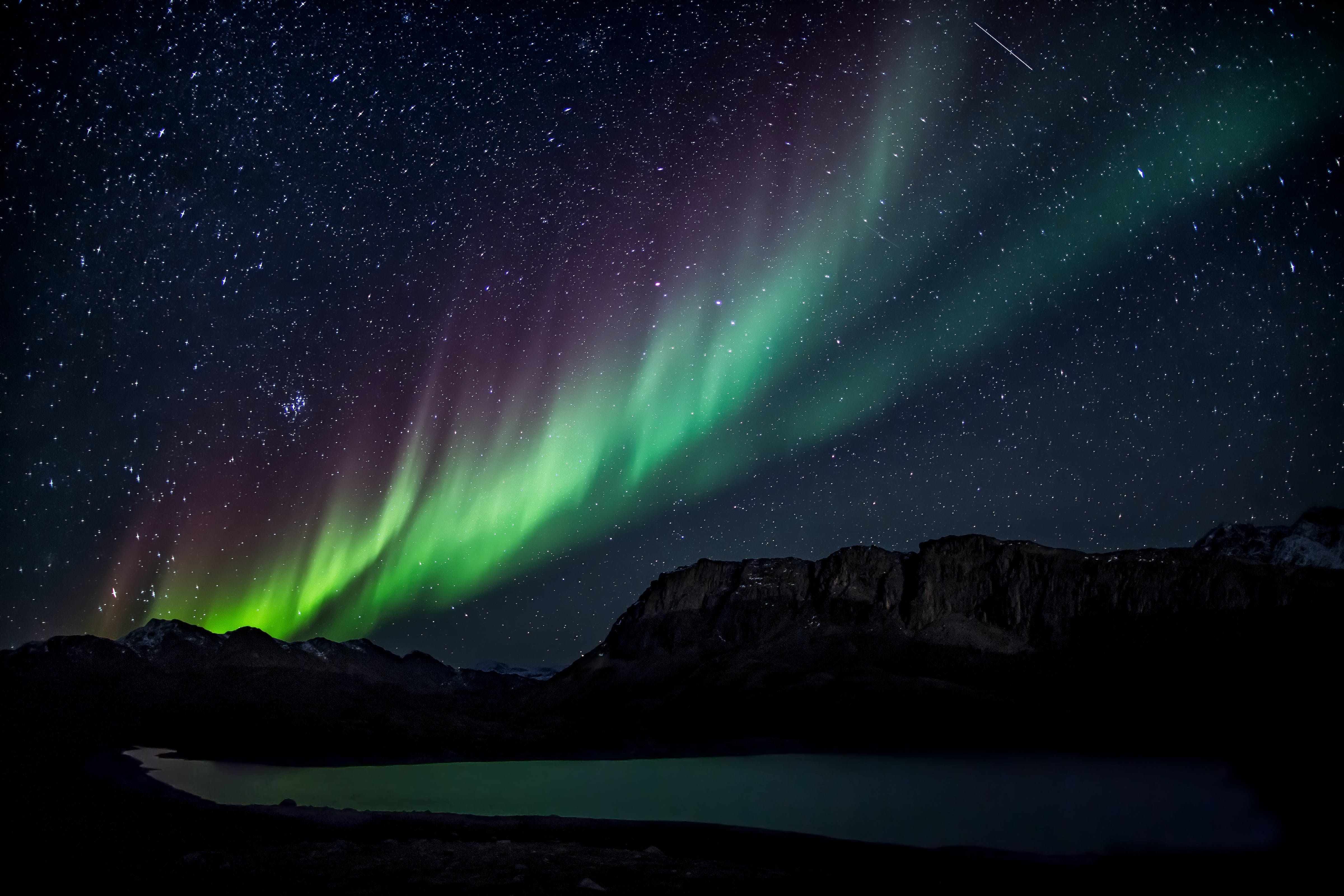 Foto d'estoc gratuïta de ambient, art, astronomia, aurora boreal