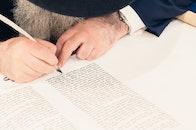 handwritten, man, person