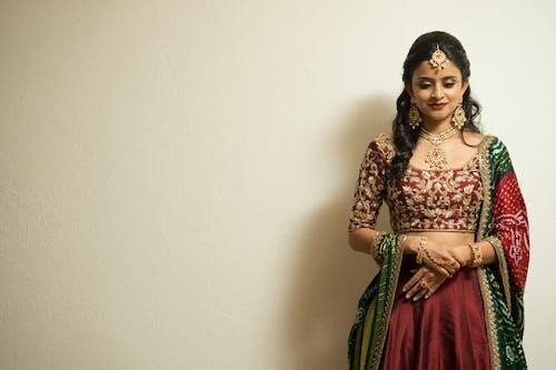 Free stock photo of bride, bride and groom, indian bride