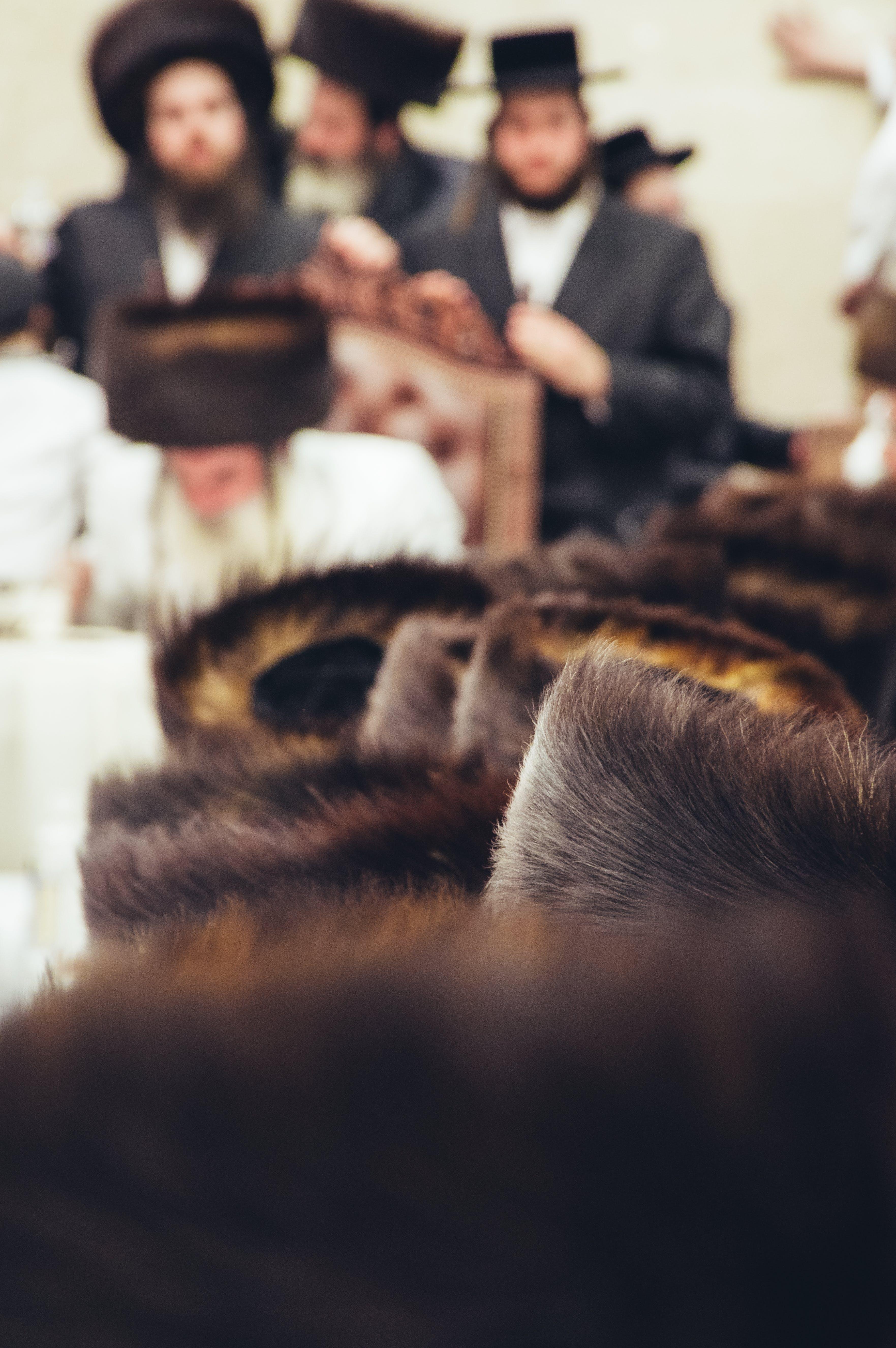 Free stock photo of Chasidim, Fur Hat, Hasidic, Hasidim