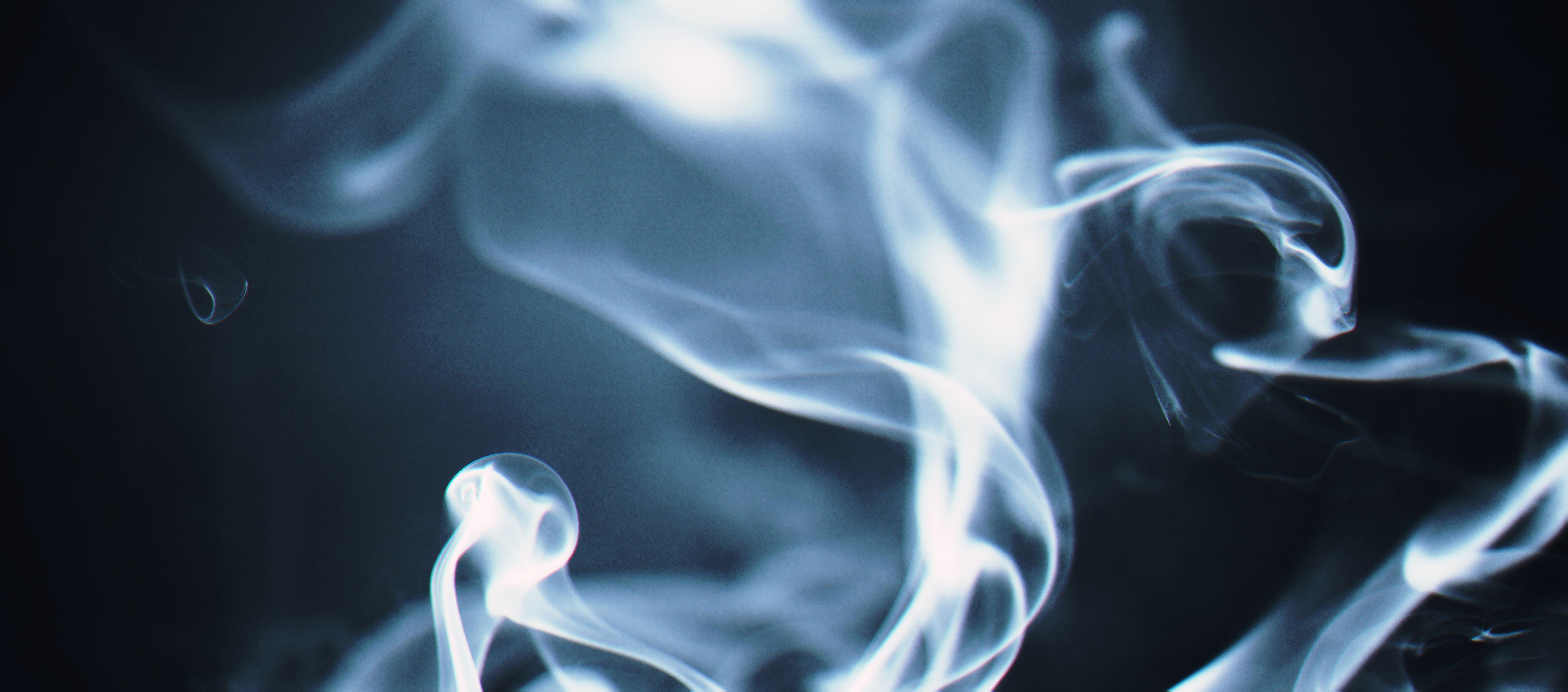 White Smoke Wallpaper