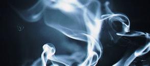 black-and-white, smoke, close-up
