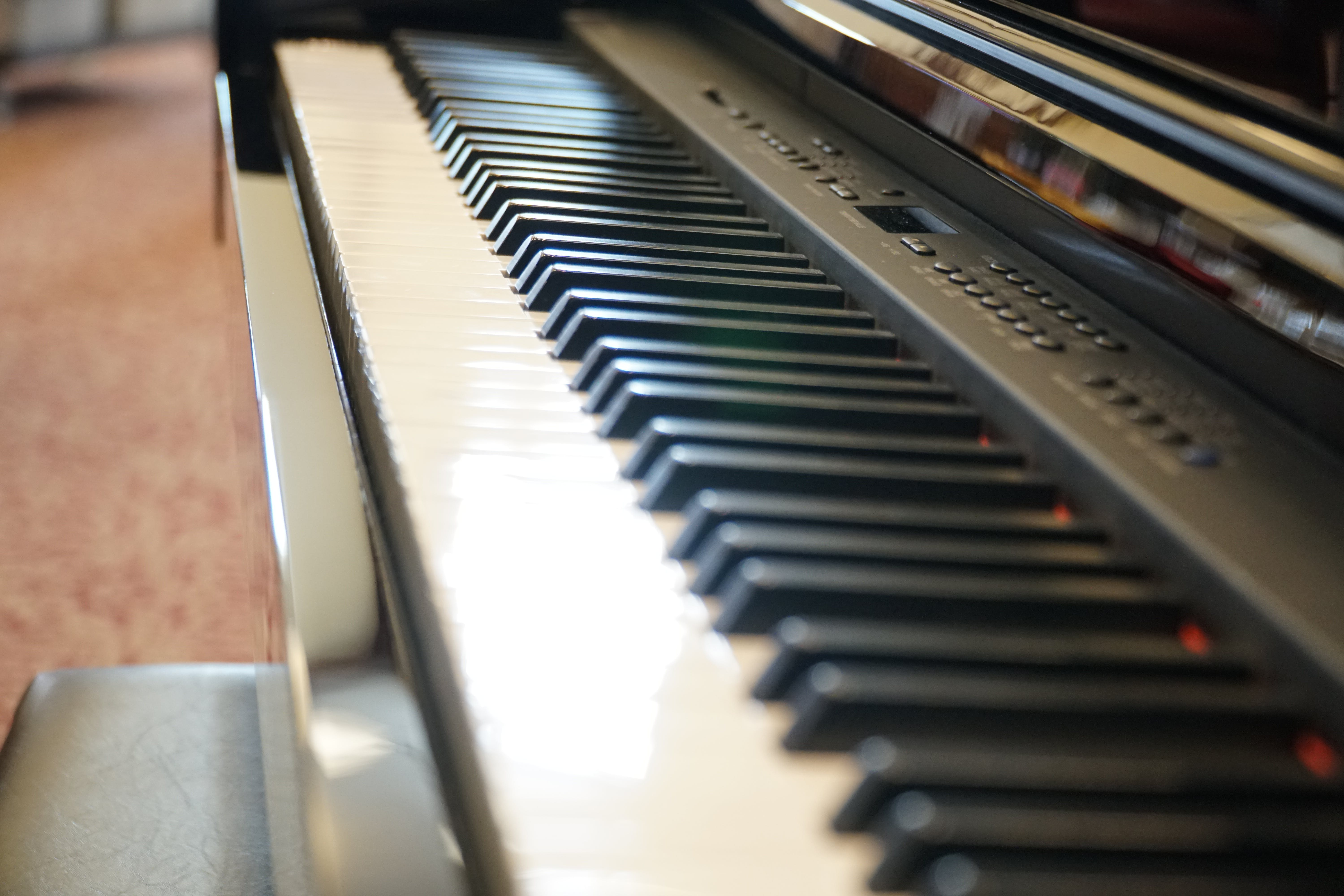 Free stock photo of piano, keyboard, keys, piano keys