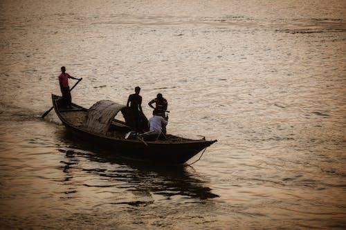 Free stock photo of boatman