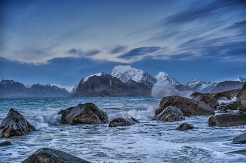 bulutlar, buz, buz gibi hava, buz tutmuş içeren Ücretsiz stok fotoğraf
