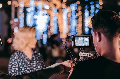 Fotobanka sbezplatnými fotkami na tému dievča, dospelý, festival, film