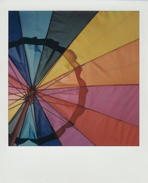 로우앵글 샷, 밝은 색, 밝은 색상, 우산의 무료 스톡 사진