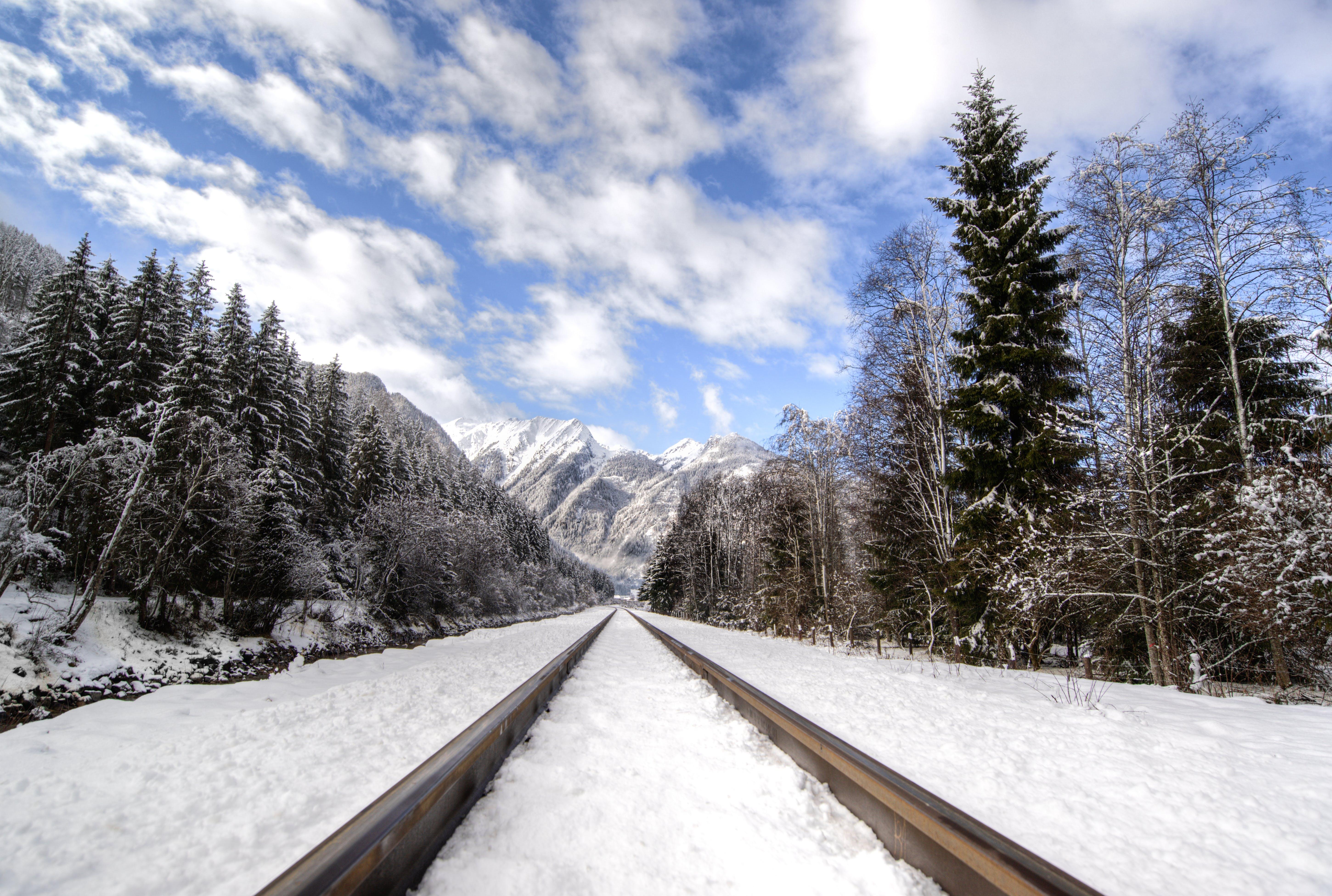 Free stock photo of austria, cold freeze, hills, iron