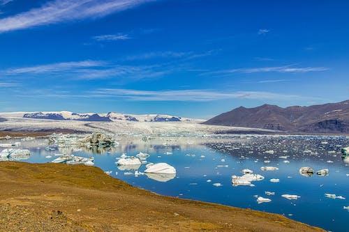 Ilmainen kuvapankkikuva tunnisteilla islanti, jää, jäätikkö, matkustaa
