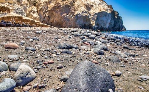 Ilmainen kuvapankkikuva tunnisteilla hiekkakivi, hiekkaranta, kaunis, Kreikka