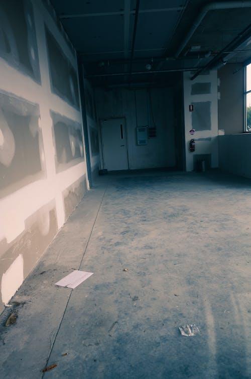 Foto d'estoc gratuïta de buit, construcció, edifici interior, en construcció