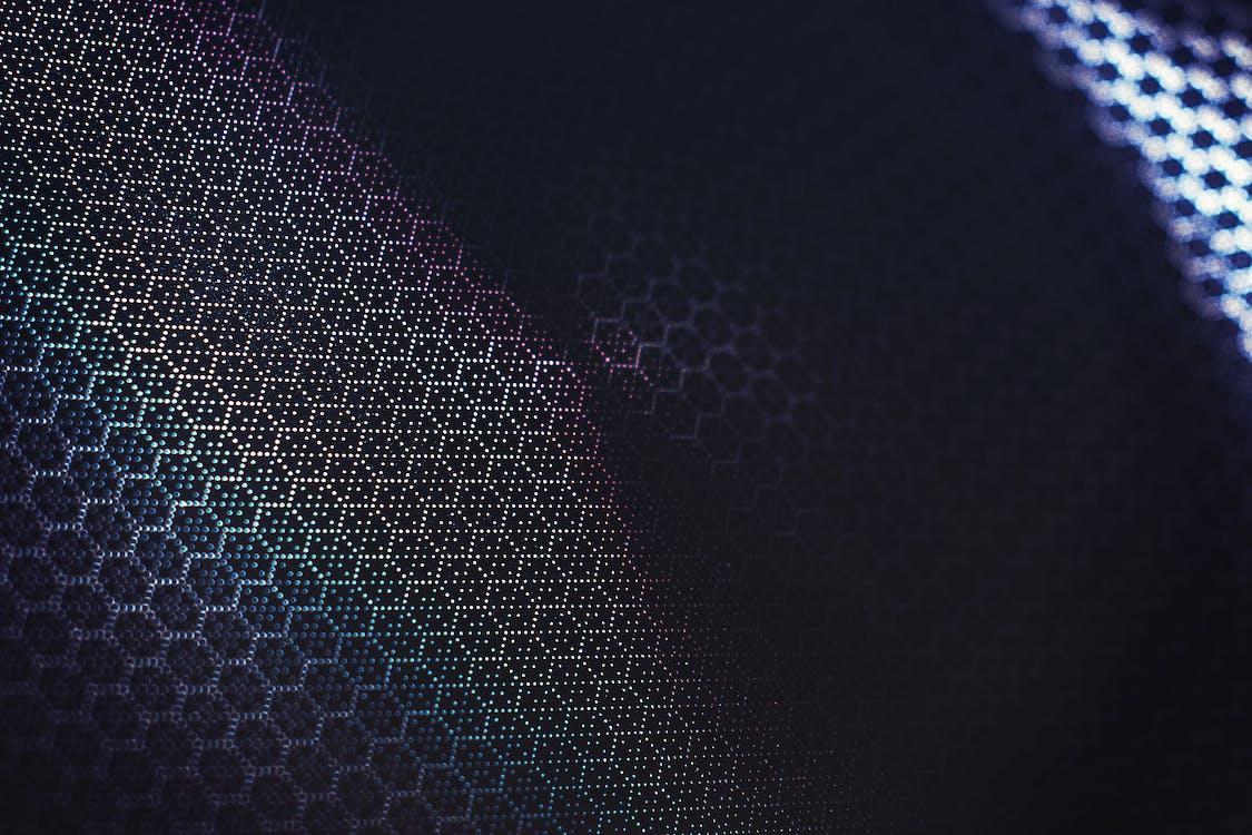 Geometric Pattern On Chameleon Color