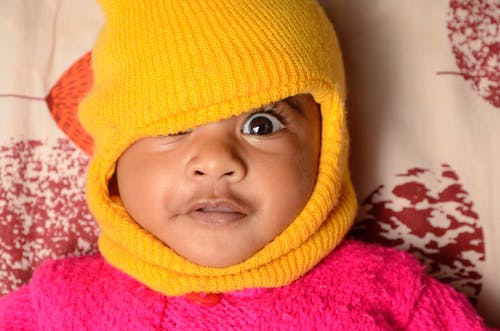Free stock photo of adorable, indian baby