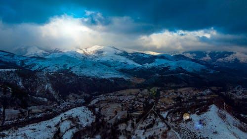 Free stock photo of blue mountains, mountain