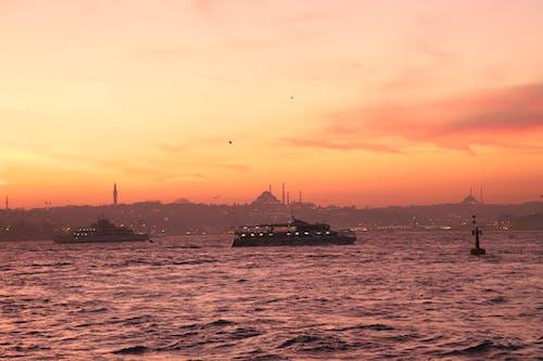 Free stock photo of evening-sky, Istanbul, sunset beach, turkey