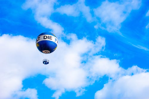 Fotos de stock gratuitas de aire, Alemania, aventura, azul