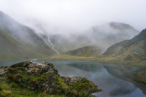 Gratis lagerfoto af 4k-baggrund, alperne, bjergkæde, bjergsø