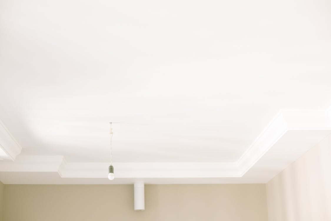 Photo of White Painted Ceiling