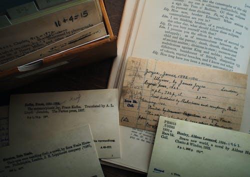 Základová fotografie zdarma na téma karty, klasický, knihy