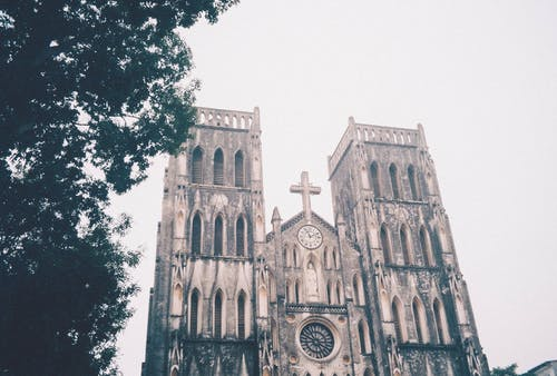 Free stock photo of 35mm film, analog, ancient, church