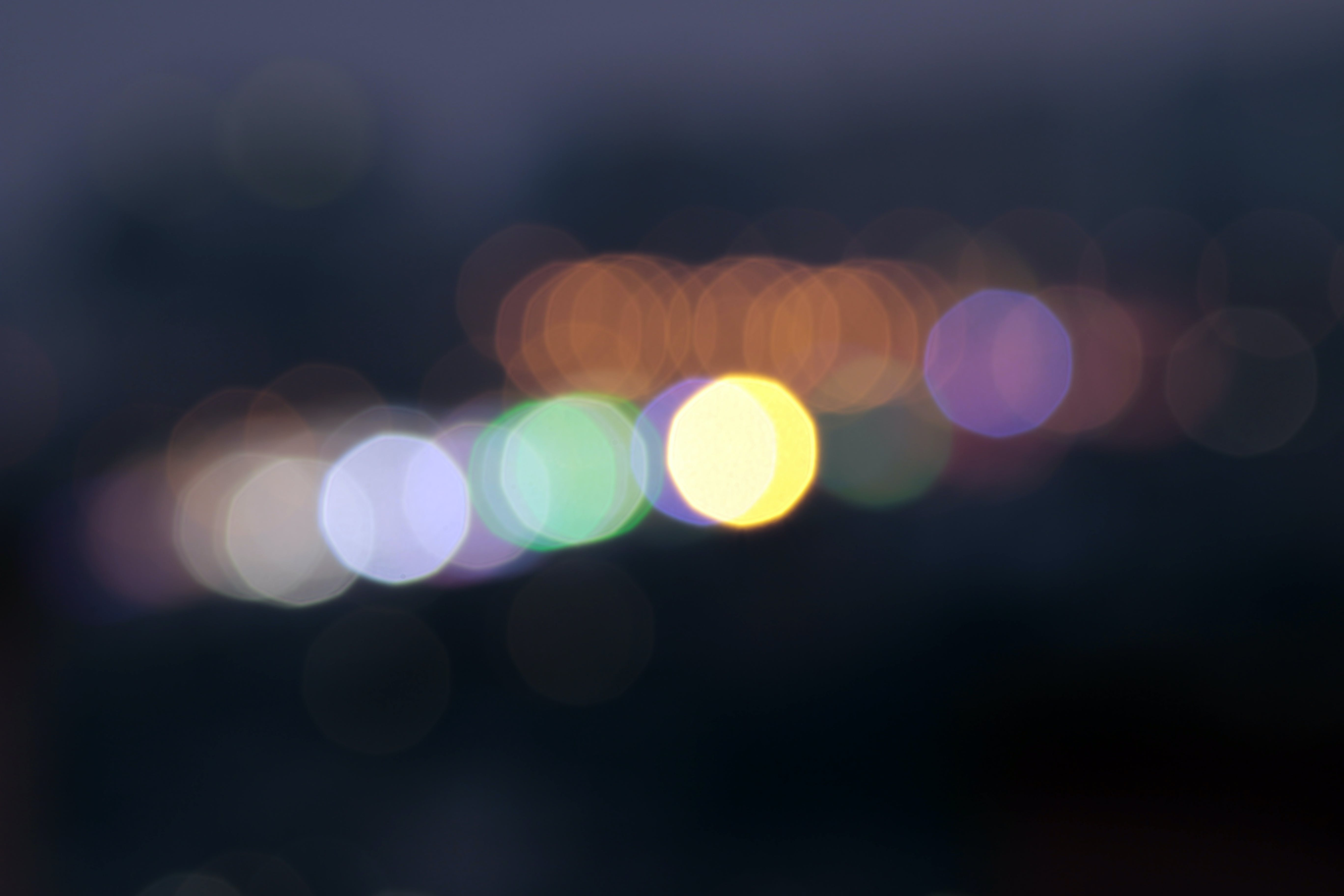 abstract, bokeh, dark