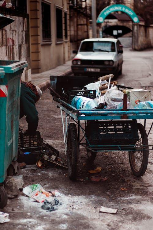 ゴミ, タウン, パイル, プラスチックの無料の写真素材