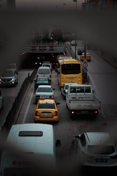 Foto profissional grátis de asfalto, ativo, automóveis, borrão