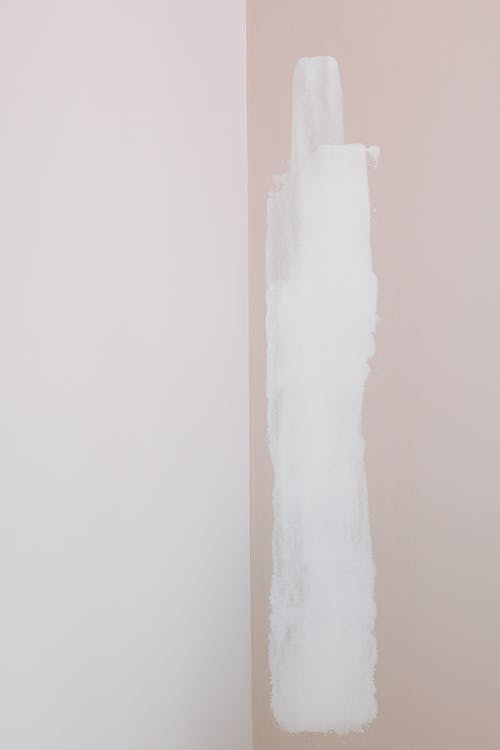 White Paint On Wall