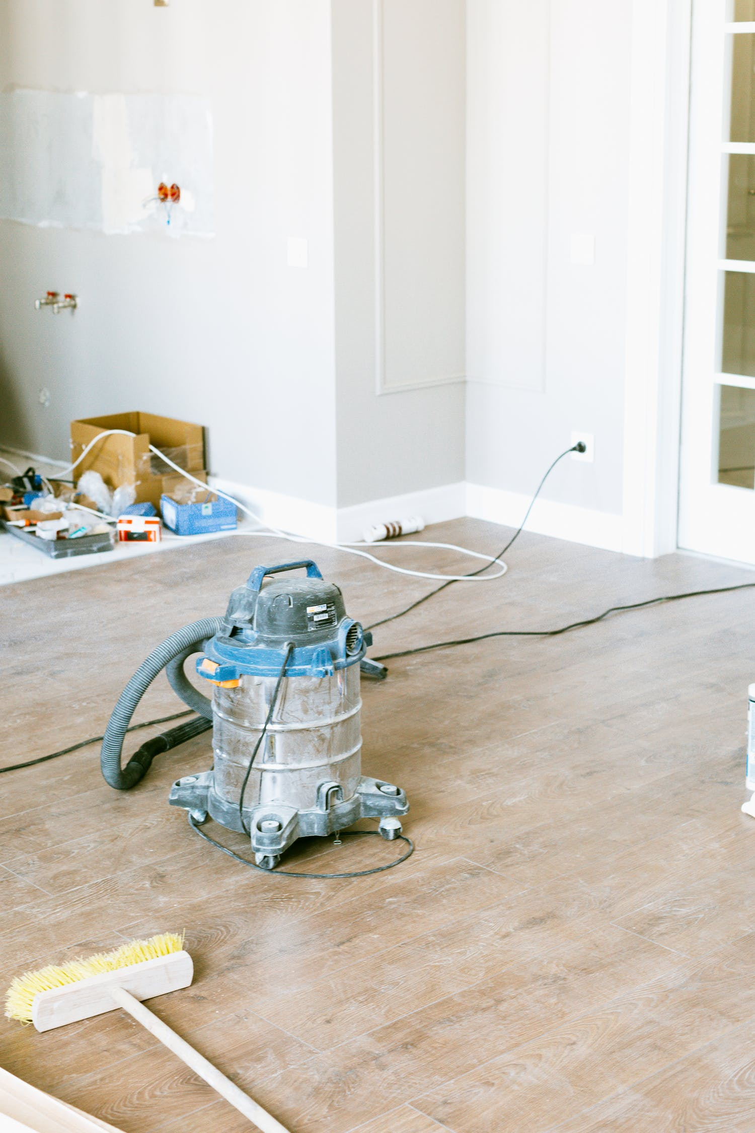 Photo of Vacuum Cleaner on Floor