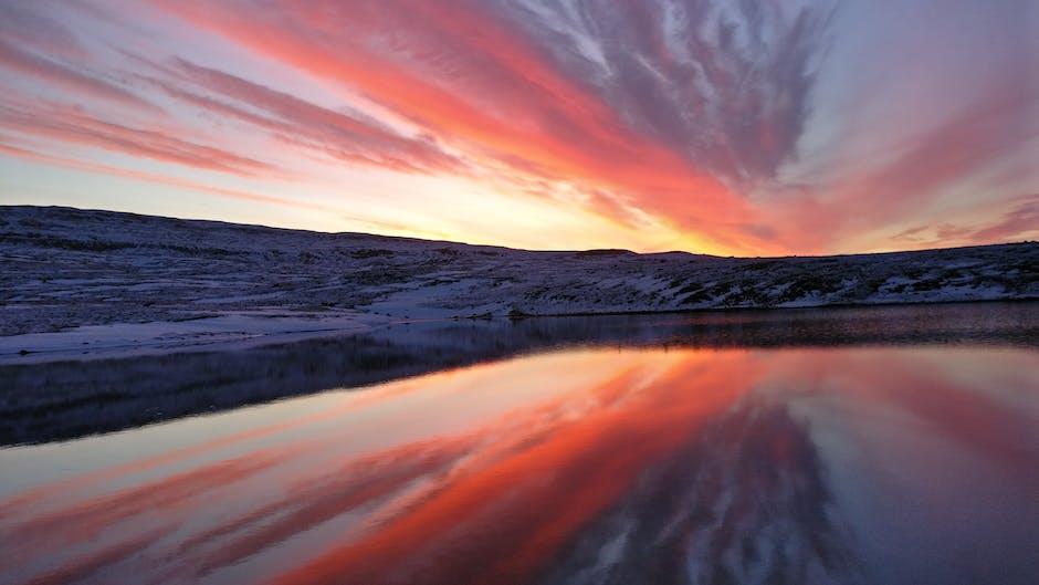 New free stock photo of iceland, sea, dawn