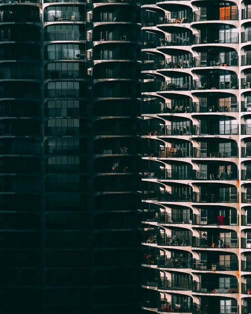 Foto d'estoc gratuïta de abstracte, acer, arquitectura, articles de vidre