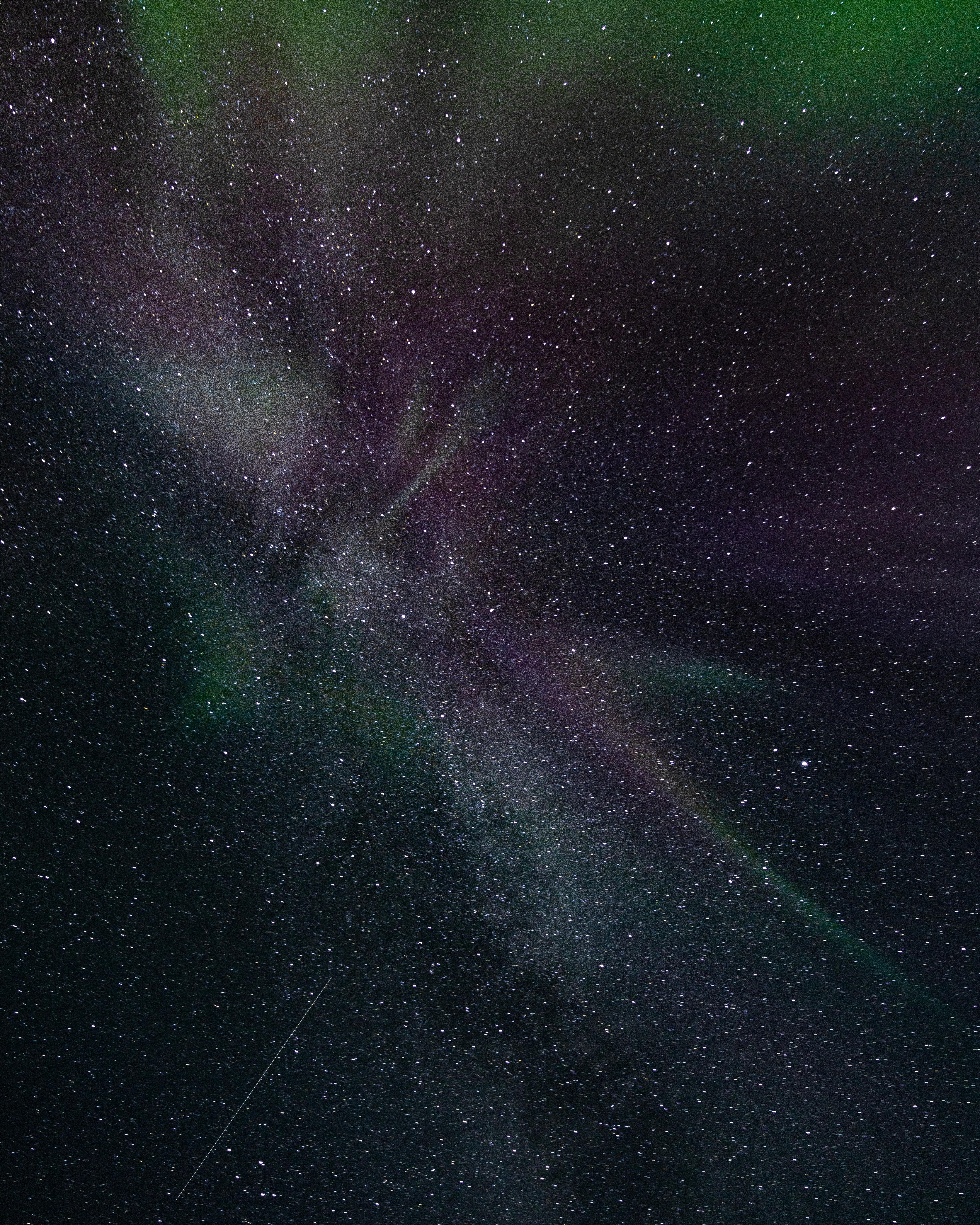 Black And White Galaxy Wallpaper Free Stock Photo
