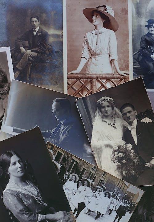 Darmowe zdjęcie z galerii z czarno-biały, stare zdjęcia, staroświecki, wspomnienia