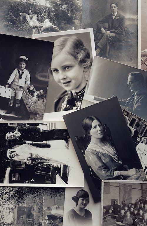 Photos gratuites de clichés, échelle des gris, histoire, monochrome