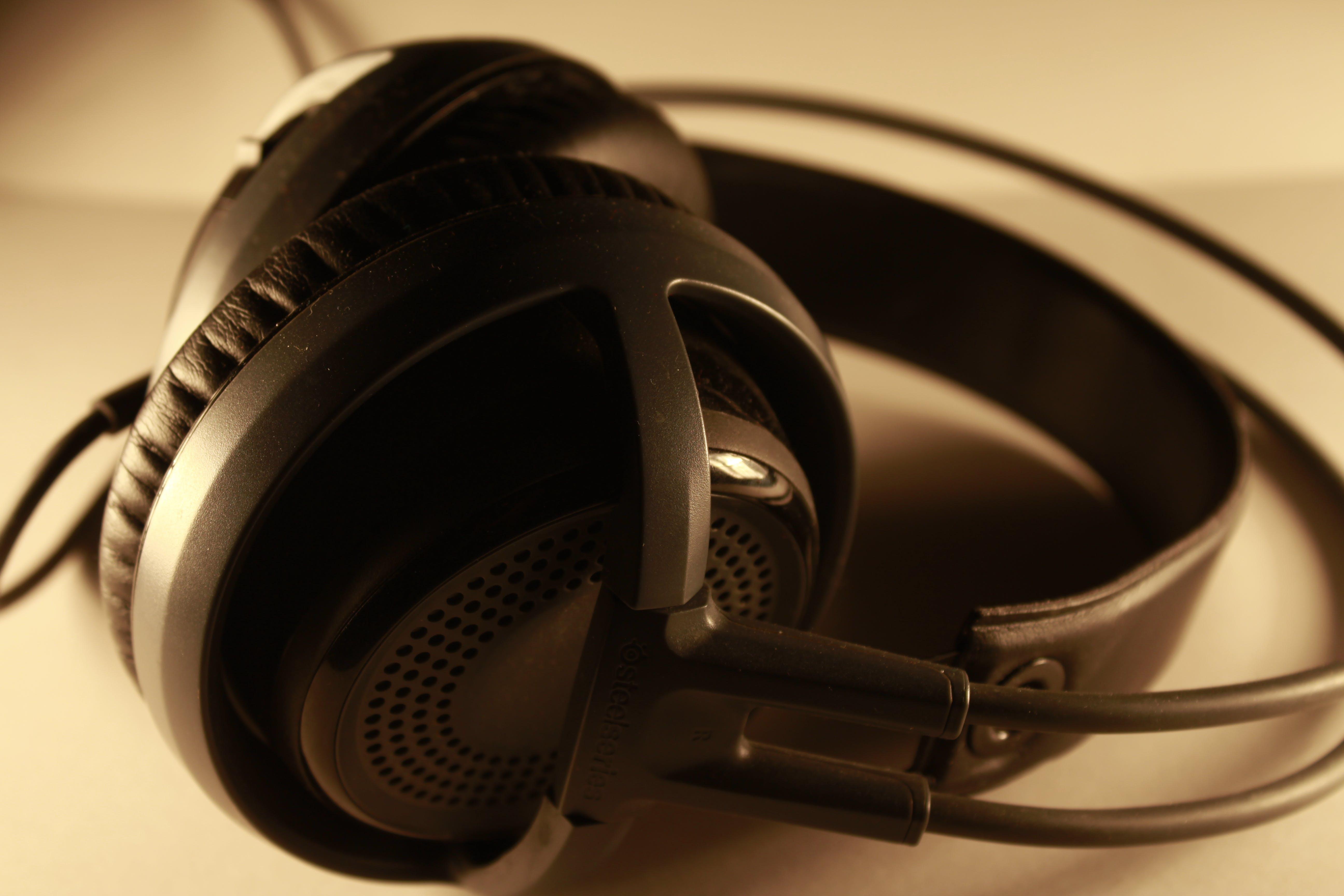 Free stock photo of brand, headphones, macro, product