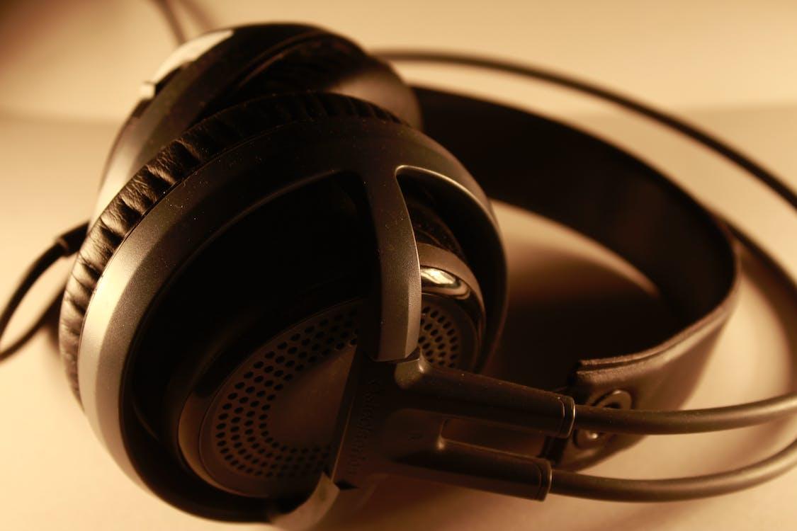 Free stock photo of brand, headphones, macro